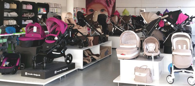 Carros de bebé en The Baby House