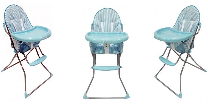 Trona Asalvo Baby Quick celeste - The Baby House, tu tienda de bebé en Sevilla