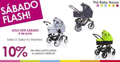 Nueva oferta en productos para tu bebé: 10% de descuento en la carrocería ABC Design de Asalvo