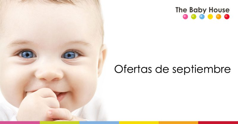 Ofertas destacadas en productos para tu bebé durante el mes de septiembre