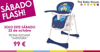"""Nueva oferta en productos de bebé: sólo el 22 de octubre, trona Elegant """"Aventura"""" a 99 €"""