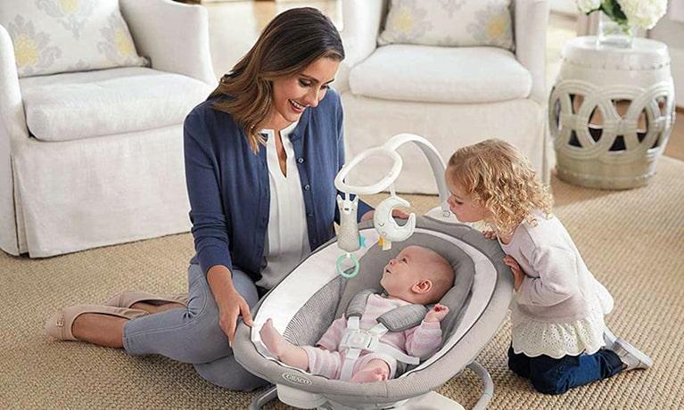 Columpios de bebé: un aliado para el entretenimiento de tu hijo