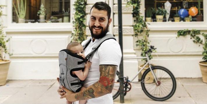 Porteo ergonómico: 6 consejos para llevar a tu bebé de forma segura