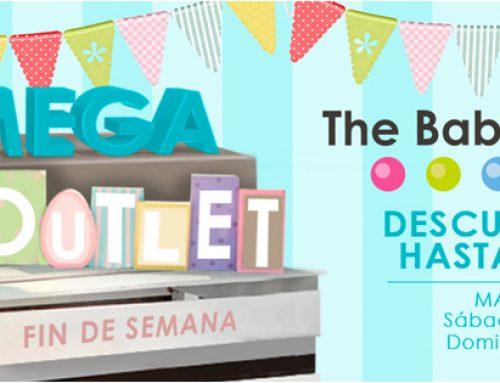 MEGA OUTLET del bebé en Sevilla: sorteamos dos productos y te hacemos un regalo sólo por venir