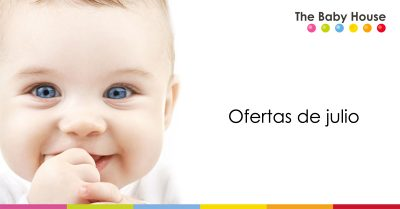 Ofertas destacadas en productos para tu bebé durante el mes de julio
