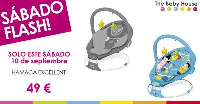 Nueva oferta en productos para tu bebé: sólo el 10 de septiembre, hamaca Excellent a 49 €