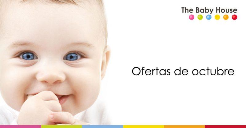 Ofertas en productos para tu bebé durante octubre en The Baby House