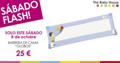 """Nueva oferta en productos de bebé: sólo el 8 de octubre, barrea de cama """"Globos"""" a 25 €"""